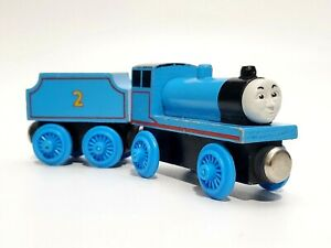 Thomas The Train EDWARD AND TENDER Wooden Flat Magnet Thomas & Friends  1994