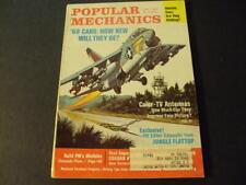 Popular Mechanics Jun 1967 Build A Minibike, 1968 Cars ID:67998