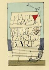 Where Earwigs Dare by Matt Harvey Paperback Book The Fast Free Shipping