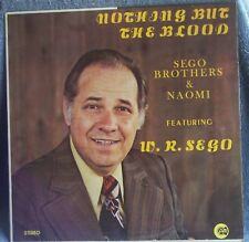 Sego Brothers NAOMI Nothing But The Blood 1974 LP Rare SEALED