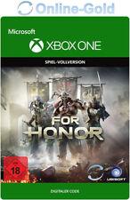 For Honor - Xbox One Conlsole Spiel - Digital Download Key Code NEU DE/EU