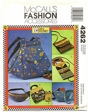 McCalls 4262 Mary Engelbreit Bags & Accessories Sewing Pattern Uncut