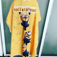 Minions Kids Hair Cutting and Styling Cape (Clips)