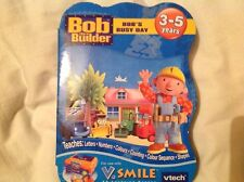 vtech vsmile game featuring bob the builder bobs busy day new sealed