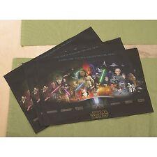 Star Wars 3er Set Tischmatte Platzdeckchen y61 w0068