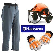 Husqvarna Chainsaw Safety Kit Helmet Trousers Gloves