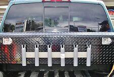 Fishing Rod Pole Holder-Tool Box-Cooler Mount/6 Rods, Boat, Truck, RV, Storage