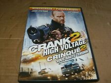 Crank 2 High Voltage Starring Jason Statham DVD,2009,Used.