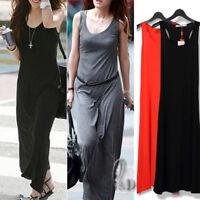 AU SELLER Celeb Style Jersey Stretch Maxi Dress Multiple colour dr131