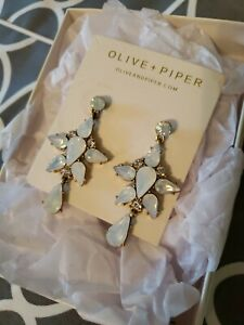 Olive + Piper Earrings Wedding Fashion Statement Womens Jewelry