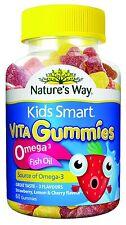 Nature's Way Kids Smart Vita Gummies Omega 3 Fish Oil