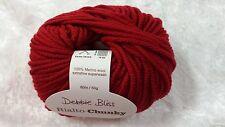 Debbie Bliss Rialto Chunky #43015 Ruby - Extra Fine Merino 12 Ply