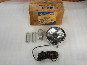 "30s 40s 50s CHEVROLET HARLEY BUICK PONTIAC OLDS GUIDE 5"" 2025-A  FOG LIGHT LAMP"