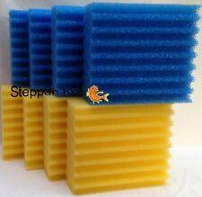 8 x Filterschwamm für SunSun CBF 350 Teichfilter Filter Osaga Atlantis