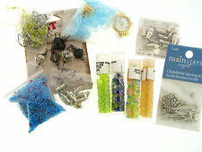 Retro Mixed Glass Seed Bead Tube Vial Watch Face Parts & Findings Drops Lot