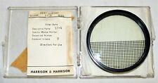 RARE 67mm HARRISON & HARRISON ST-4 Star Filter spilt screen lens