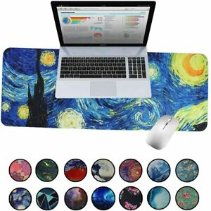 Extended Large Gaming Mouse Pad | Stitched Edges | No-Slip | Water Resistant
