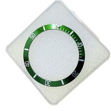 Inserto in alluminio per ghiera Rolex Submariner Verde Argento 16610 16800