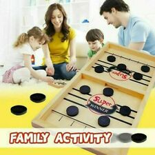 Wooden Hockey Game Table Game Family Fun Game for Kids Children 100% NEW TOP