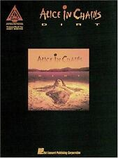 Alice in Chains: Dirt Sheet Music Song Book Guitar Tab Tablature 1993