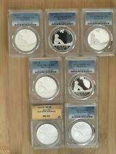 2017 Boys Town Centennial Silver Dollar Commemorative Coins-Seven Coins!