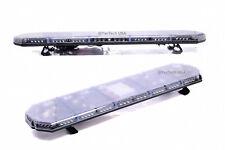 """56"""" 104 LED EMERGENCY BEACON LIGHT BAR WARNING TRUCK TOW WRECKER STROBE AMBER"""