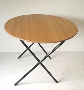 Folding Dinning Canteen Cafe Restaurant bistro banquet function round Table