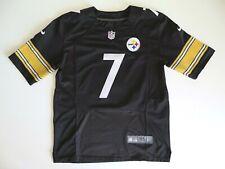 Nike Elite NFL Pittsburgh Steelers #7 Ben Roethlisberger Jersey Size 44 / L