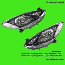 Mazda 2 DE Genki Maxx Neo Head Lights JAPAN BUILT 07 - 2014 Right and Left Side