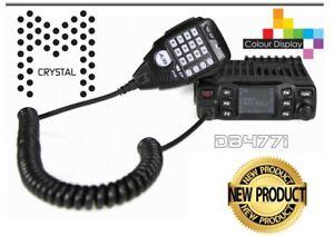 Crystal DB477I 80CH UHF CB 5 Watt 2-Way CB Radio ** PRO SERIES ** NEW RRP $369