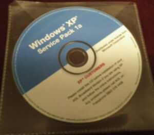 Microsoft Windows XP Service Pack 1A CD ROM Disc  AOL