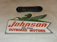 Retro Vintage Johnson Sea-horse Outboard Motor Metal Advertising Sign Replica