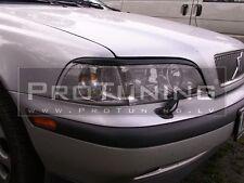 Volvo S40 V40 95-00  eyebrows headlight spoiler lightbrows eye lids brows covers