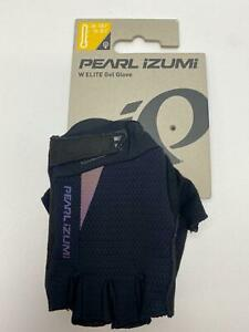 new Pearl Izumi WOMEN'S ELITE GEL bicycle GLOVES BLACK #2