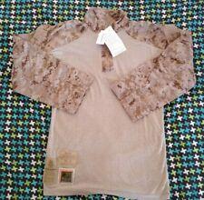 USMC Desert Marpat FROG Combat Shirt Top MR  New with tag