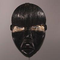 9544 Feine Dan Maske Elfenbeinkuste mit schöne Patina