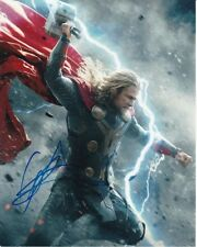 CHRIS HEMSWORTH signed autographed THOR photo