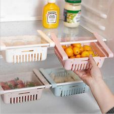 3er Set Ausziehbarer Kühlschrank Aufbewahrungsbox Schubladenboden OrganizYI