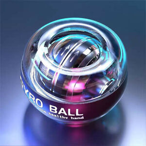 LED Wrist Ball Super Gyroscope Powerball Self-starting Gyro Arm Force Trainer