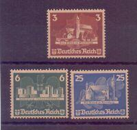 Dt. Reich 1935 - 3 Werte aus OSTROPA Block 3 postfrisch** mit Gummierung! (486)
