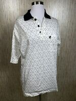 KANGOL GOLF mens Large polo shirt 100% Cotton Golf clubs