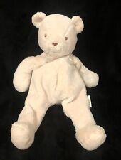 """Eden Teddy Bear Plush Cream Floppy Stuffed Animal 14"""""""