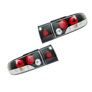 For 91 92 93 94 95 Mitsubishi Lancer Sedan 4 Windows Colt Tail Lamp Light Black