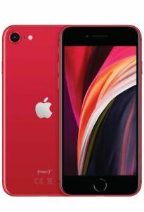 "NUOVO Apple iPhone SE 2020 64GB 4,7"" Rosso ITALIA LTE Smartphone iOS MX9U2QL/A"