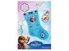 Disney Frozen hacer Su Propio Navidad Stocking Elsa Anna Olaf Craft Niños Arte