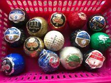 Vintage golf balls x 14, c1970/80's, mostly dunlop