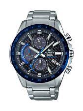 Casio Men's Edifice Quartz Stainless Steel Watch, EQS-900DB-2AV