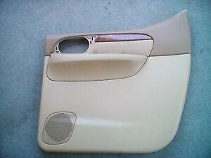 Isuzu 8151887920 Right Rear Door Card Panel Interior Trim OEM 2004 Ascender
