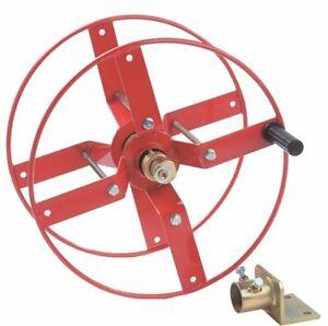 """Heavy Duty Power Washer Side Mount Pressure Hose Reel (50 Metre X 3/8"""" Hose)"""
