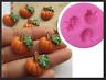 Mini Silicone Silicon Pumpkin Vegetable Mould Mold Cake Fondant Sugarcraft Resin